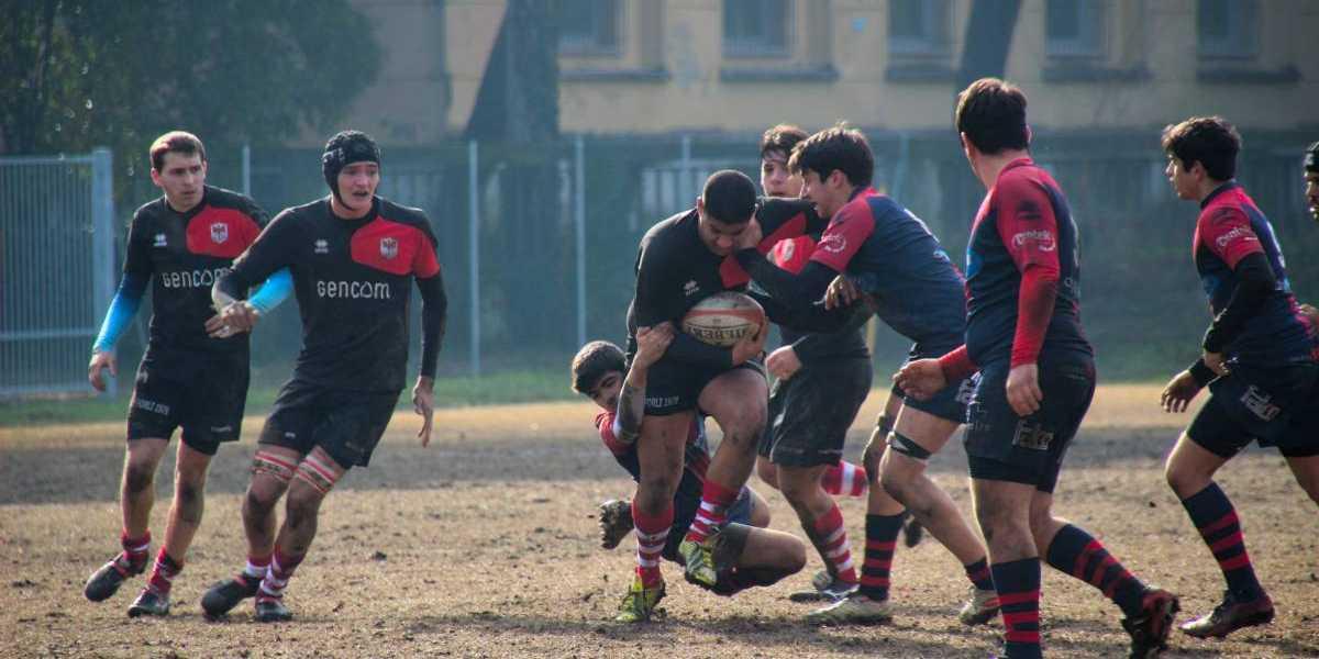 GENCOM RF79 nella partita vittoriosa sull'Imola Rugby