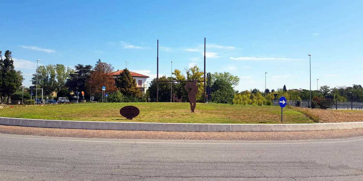 Rotonda Via Pandolfa - Via Bertini